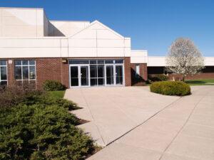 school door entrance exterior